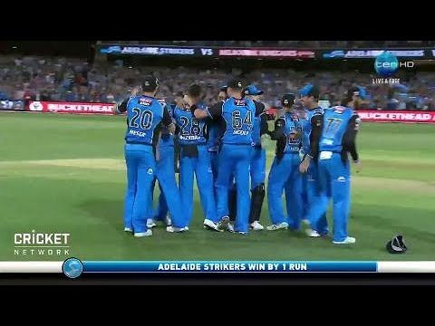 Watch the thrilling final over at Adelaide Oval