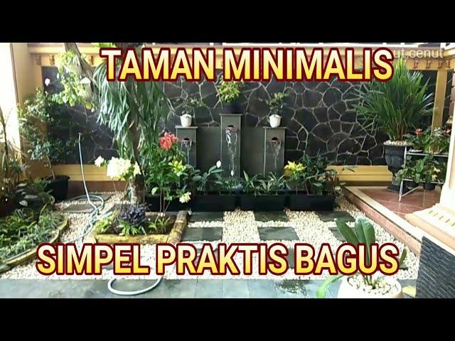 Taman Minimalis Depan Rumah Sederhana Tapi Bagus Youtube