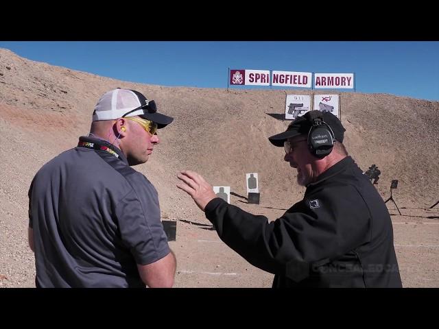 Rob Leatham – Small Guns Suck… Until Now – Springfield 911 – SHOT Show 2018