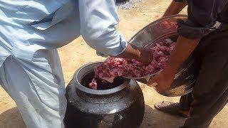cooking 60 kg meat village style/beef karahi gosht by hl foods