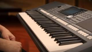 Yamaha PSR-S950 / PSR-S750 product overview video