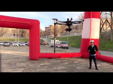 LIVE dal Campus Roma Drone 2017 (#UniRoma3)