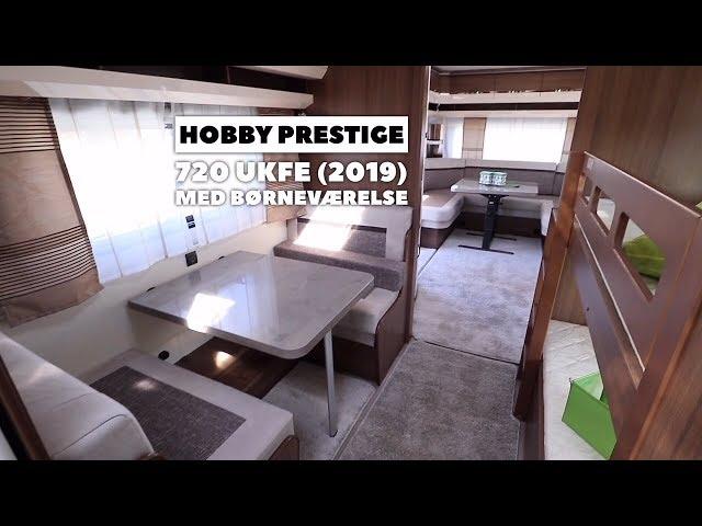 Hobby Prestige 720 UKFe (2019) til børnefamilien