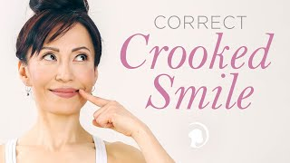 Correct Crooked Smile With One Simple Exercise!