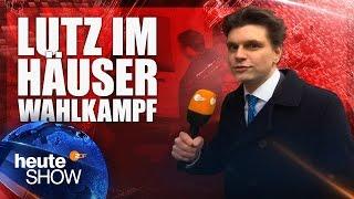 Lutz van der Horst begleitet die Grünen im Wahlkampf