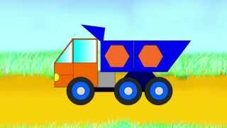 big trucks vehicles cartoons for kids cartoons for children about cars
