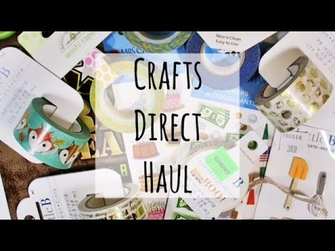 Crafts Direct Haul | July 2016