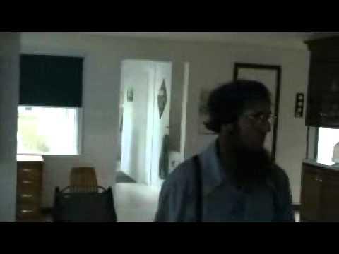 Inside an Amish house