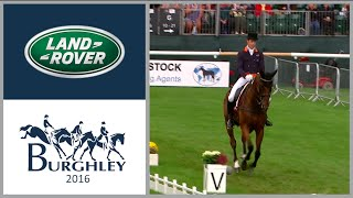 Christopher Burton breaks Dressage Burghley record