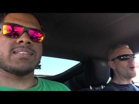 Two Idiots go to Auto Club Speedway - BECAUSE RACE CARS!