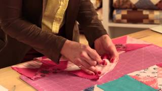 Ohio Star Baby Quilt: Two Tips