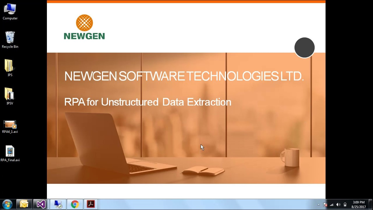 Unstructured Data Extraction using Newgen RPA