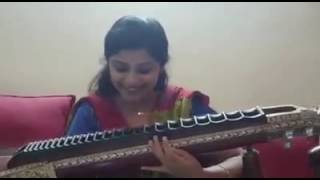 Veena Srivani plays heart touching melody song $S$ tamil telugu song