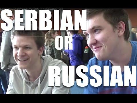 What Serbian sounds like2/Serbian vs Russian