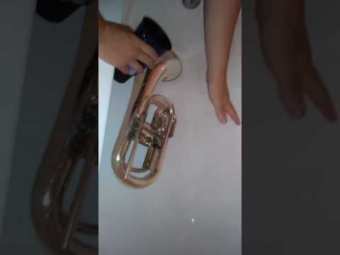 Cleaning a Baritone