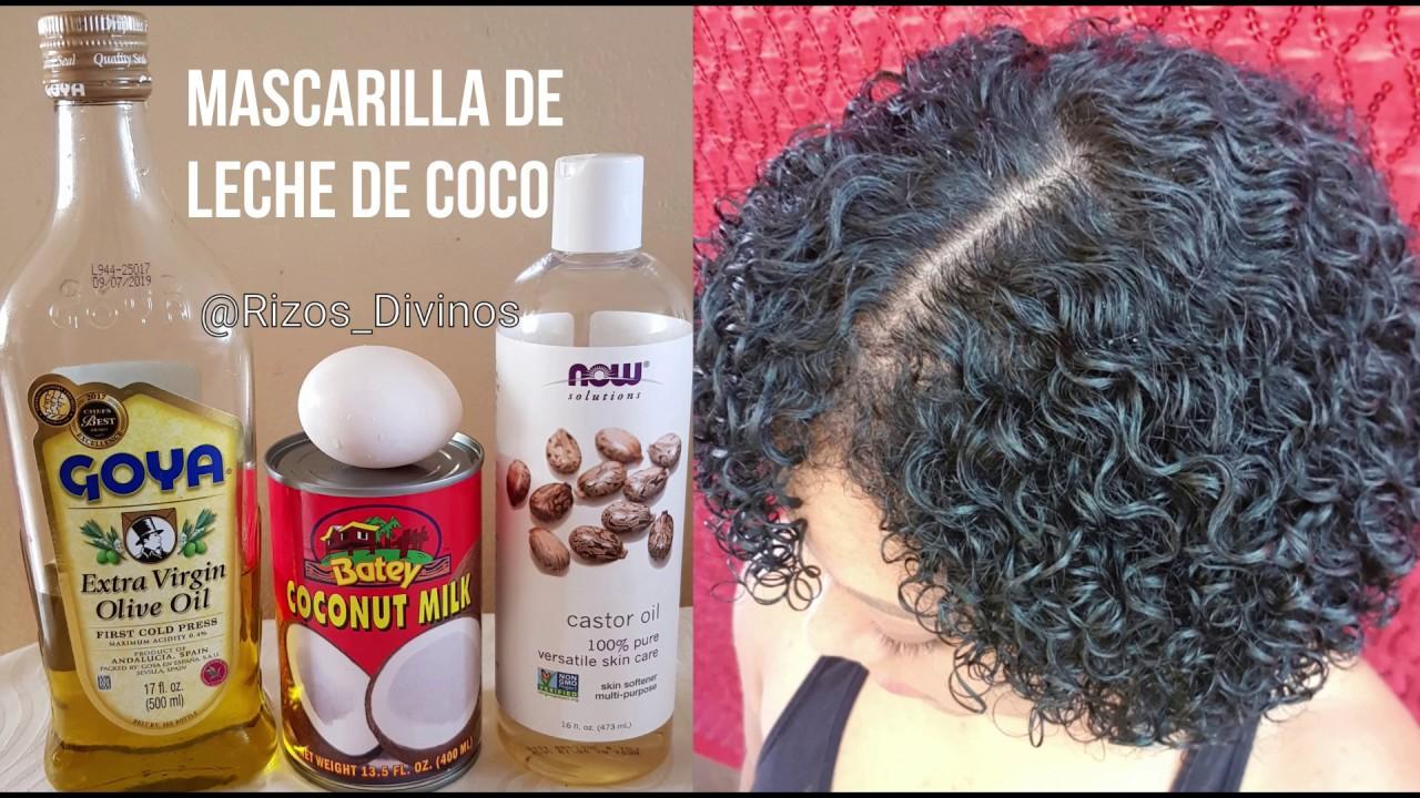 mascarillas hidratantes caseras para el cabello rizado