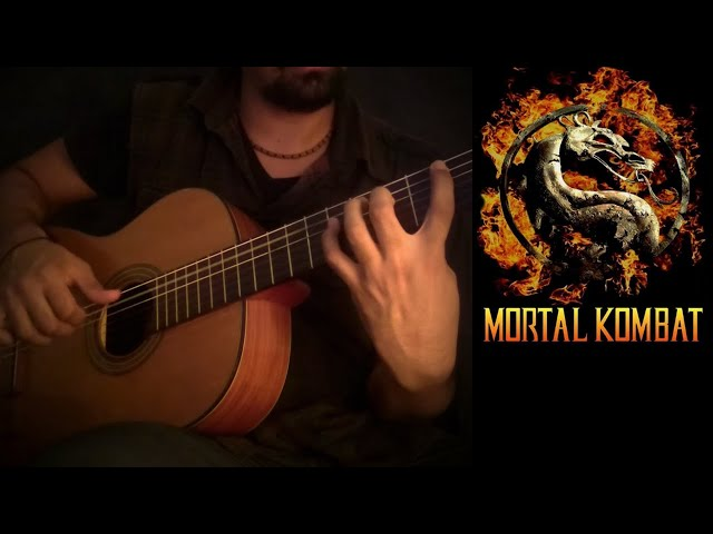 Mortal Kombat on Classical Guitar... FINISH HIM!