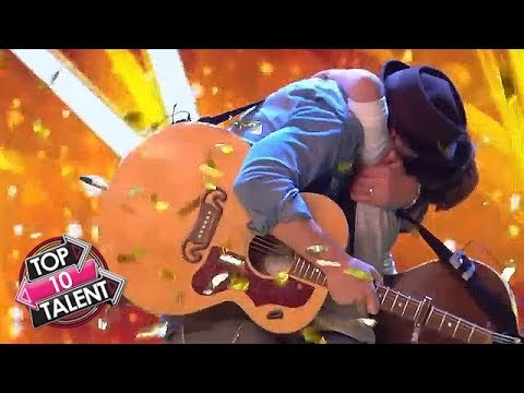 TOP 10 Astounding ACOUSTIC Auditions On Got Talent And Idol Around The World!