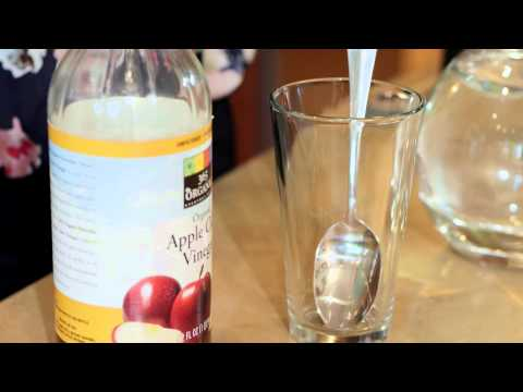 Can Drinking Vinegar Water Really Make You Alkaline? : Fit Food