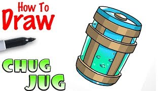How to Draw the Chug Jug | Fortnite