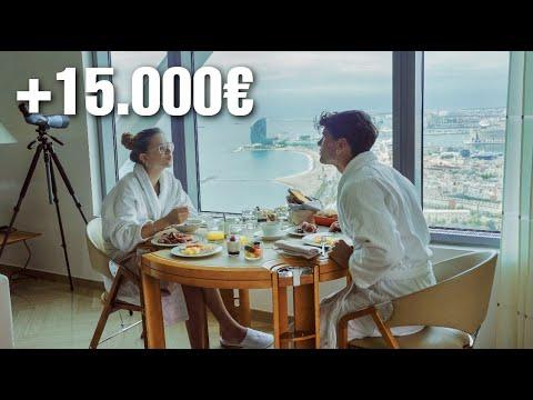 24H en la HABITACIÓN más lujosa de Barcelona | +15.000 euros