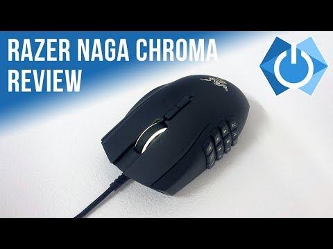 Razer Naga Chroma Review   MOBA/MMO Mouse! (Wired)