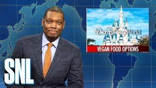 Weekend Update: Disney World's Vegan Menu - SNL
