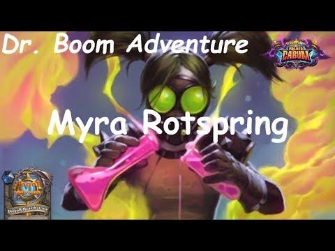 Hearthstone Puzzle Lab: Myra Rotspring - Dr. Boom Adventure (Projeto Cabum - Boomsday)