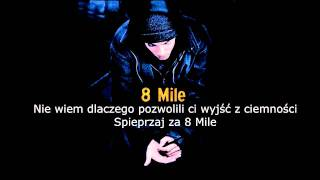 8 Mile - B-Rabbit vs. Lickety Split [TEKST PL]