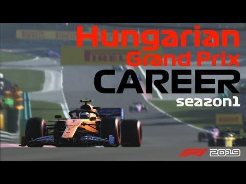 【F1 2019】FANATECとPlayseat F1でキャリアモード! Season1 R12 Hungarian GP