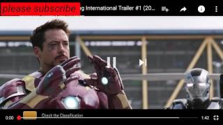 Spiderman homecoming international trailer