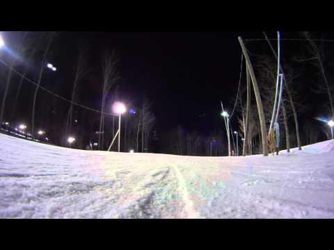 Ski bromont Detroit speed test. March 2016
