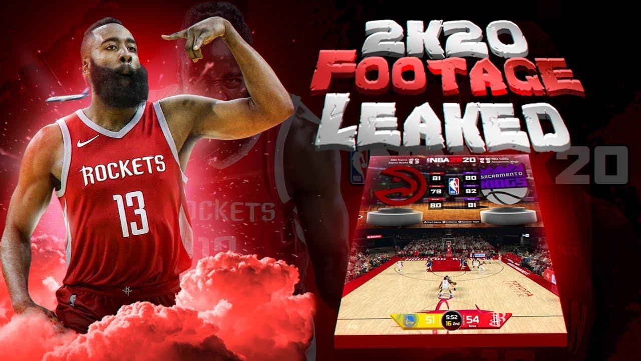 FIRST LOOK AT NBA 2K20 GAMEPLAY!!! + SCREENSHOTS!!!