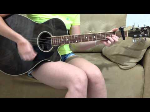 Because Of You - Kelly Clarkson - Guitar Cover