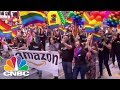 Tech Companies Support Diversity And Inclusion At SF Pride   CNBC