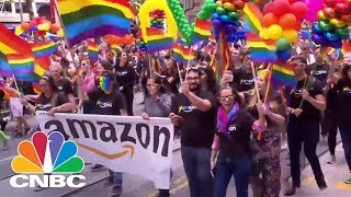 Tech Companies Support Diversity And Inclusion At SF Pride | CNBC