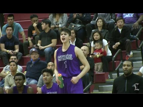Kobe Paras scores 30 points for Cathedral