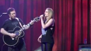 Video PUSH - Avril Lavigne The Black Star Tour in Osaka download MP3, 3GP, MP4, WEBM, AVI, FLV Agustus 2018