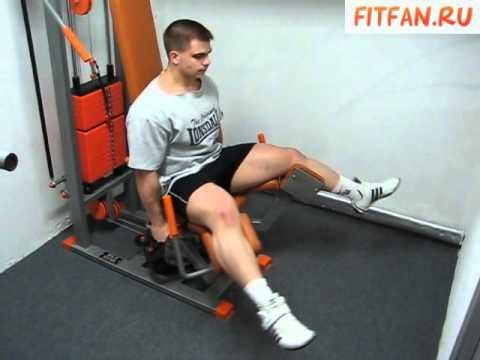 Упражнения для ног. Комплекс упражнений для квадрицепса