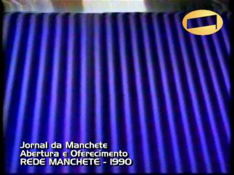 Jornal da Manchete Abertura 1990