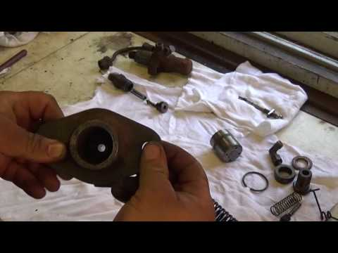 American Bosch Injector Pump Disassembly (Fairbanks Morse 36