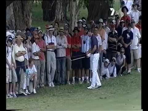 2006 Australian Open Golf won by John Senden  | 7 Sport | The Royal Sydney Golf Club