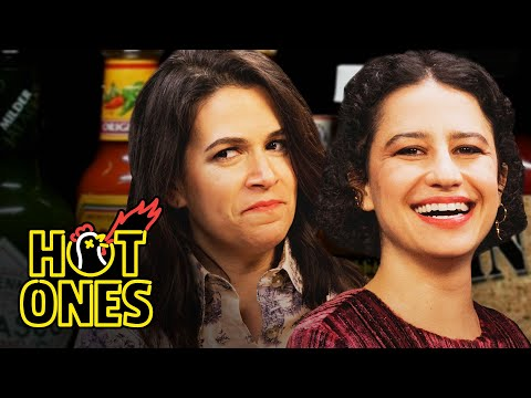 Deej - The Ladies of 'Broad City' Take on Hot Ones