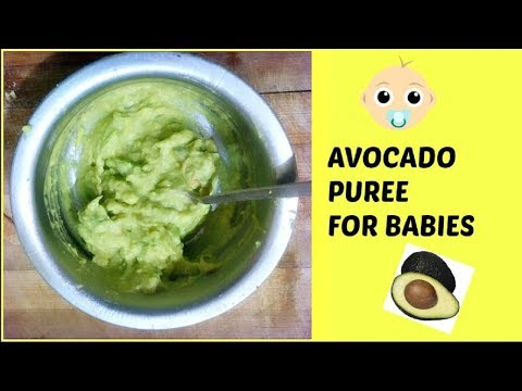 avocado-puree-for-baby-|-6-to-12-months-baby-food
