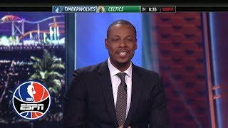 Paul Pierce: Isaiah Thomas tribute shouldn't be same day as jersey retirement | NBA Countdown | ESPN