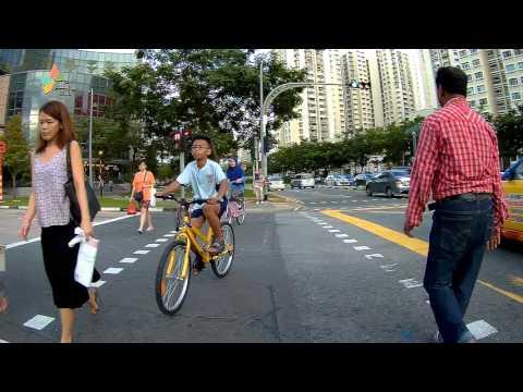 Singapore, biking from Yio Chu Kang Rd to Sengkang East Road | SJ5000X FEIYUTECH WG
