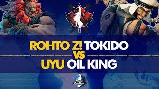 ROHTO Z! Tokido (Akuma) vs UYU Oil King (Rashid) - Canada Cup 2019 Winners Final - CPT 2019