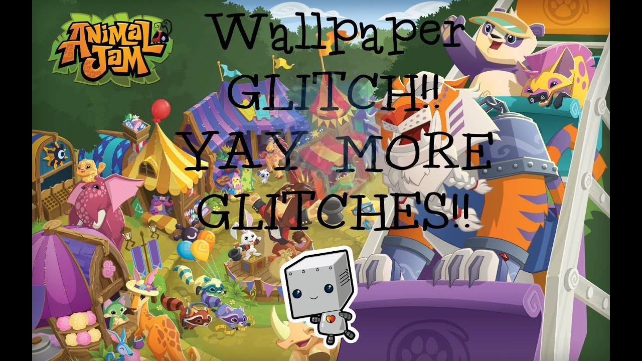 Animal Jam Wallpaper Glitch!! - YouTube