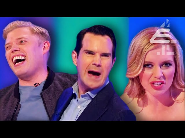 BEST Insults | Panel SHOCKED Jimmy Carr Went Clubbing with Justin Bieber?? | 8 Out of 10 Cats