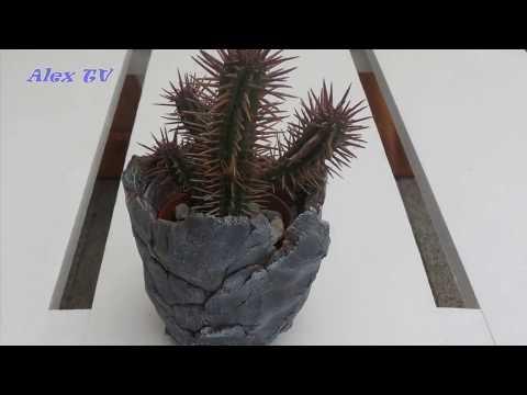 Gut bekannt Blumentopf / Pflanzkübel selber machen . YB22